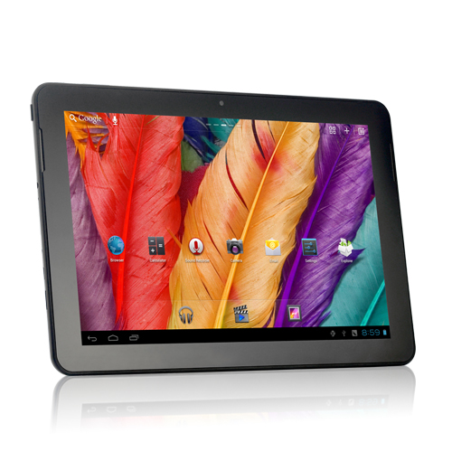 "Android 4.0 Tablet ""Starlight"" - 10.1 Inch HD Screen, 1.6Ghz Dual Core, 32GB (Silver) OA1704"
